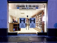 Harvie & Hudson - new flagship store in Lime Street, London EC3